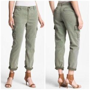 J Brand Olive Green Croft Easy Cargo Pants